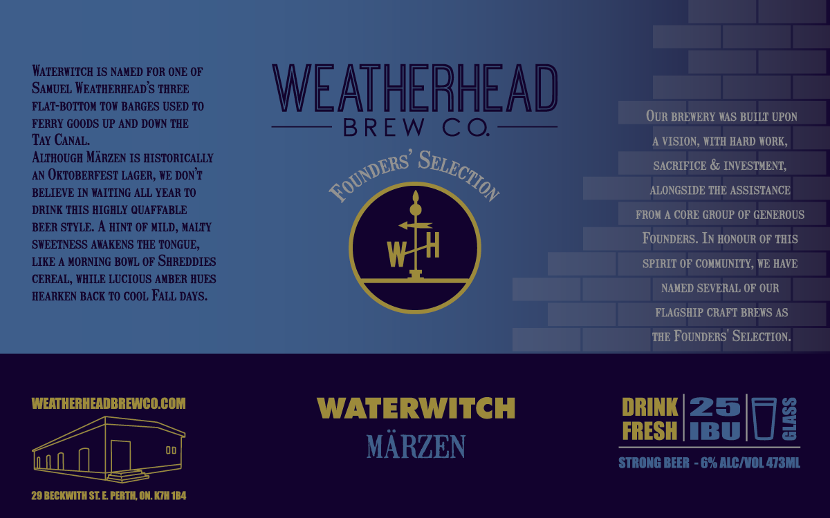 Waterwitch Label