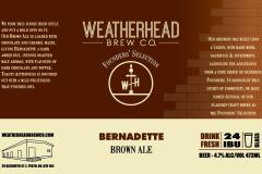 Bernadette Label