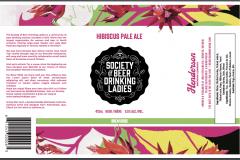 Brew005 -Hibiscus Pale Ale