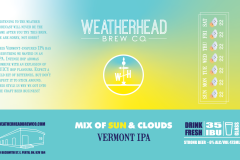 Mix of Sun & Clouds Label
