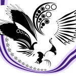 Bird & Wampum Prints