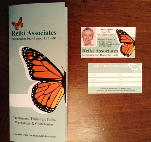 When you re-do the brochure, you HAVE to re-invent the business card as well