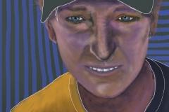 Portrait of TRK, 2016. Drawn on iPad mini.